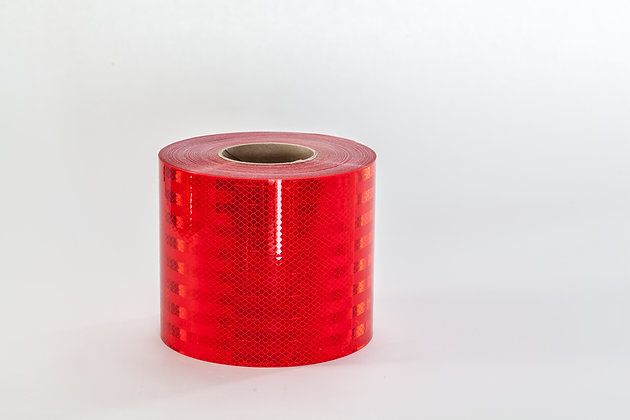 "3M DIAMOND GRADE CONSPICUITY TAPE 983-72-6""x50yds RED"