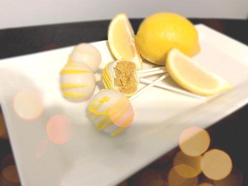 Lemon Cake Pop