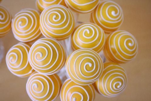 Yellow Cake Cake Pops