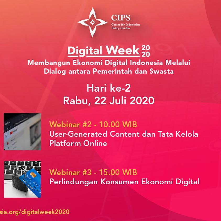 Digital Week 2020 - Perlindungan Konsumen di Era Ekonomi Digital