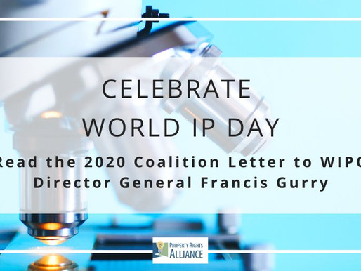 2020 World IP Day Coalition Letter