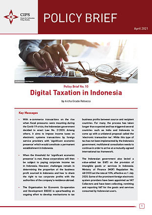 Digital Taxation in Indones