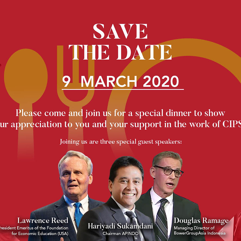 CIPS Supporters Dinner