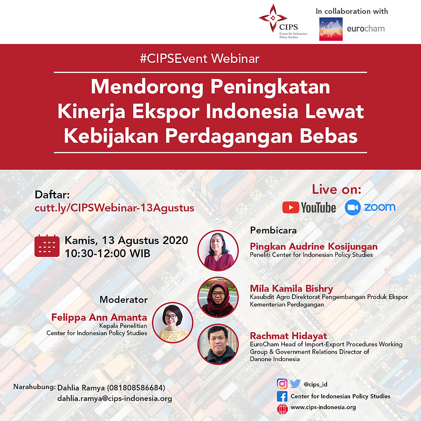 Mendorong Peningkatan Kinerja Ekspor Indonesia Lewat Kebijakan Perdagangan Bebas