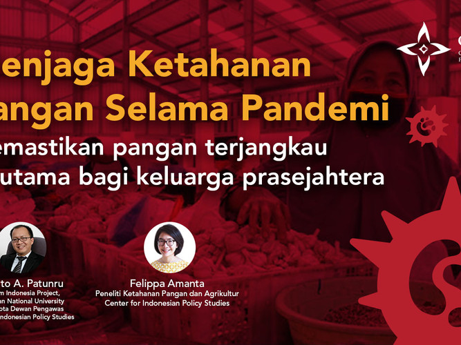Webinar of Food Security during Covid-19 Pandemic