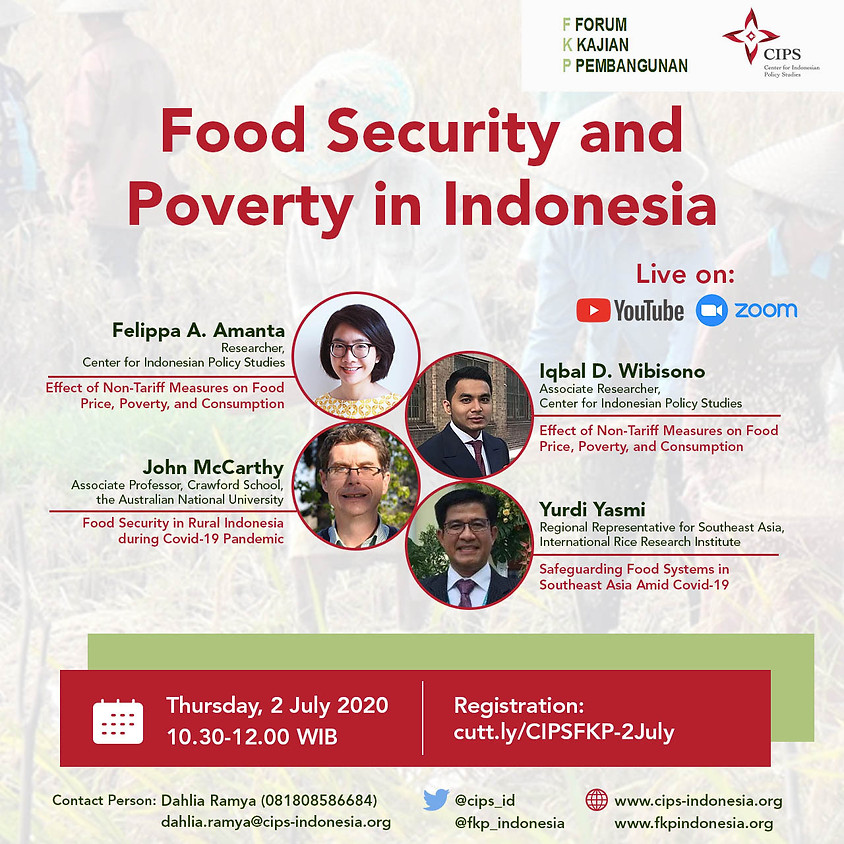 Food Security & Poverty in Indonesia