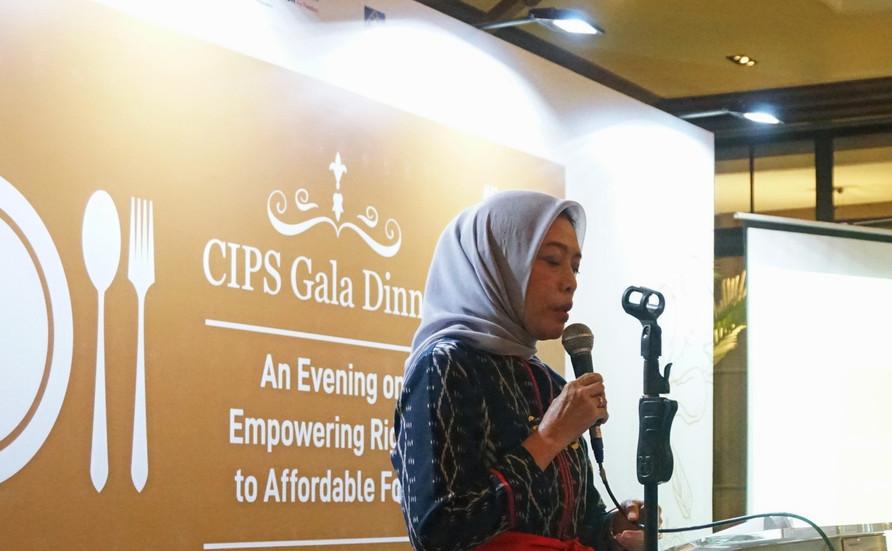 Ibu Saidah Sakwan, Ketua CIPS, memberikan pidato pembukaan. Beliau mengucapkan terima kasih kepada semua tamu atas dukungan mereka kepada CIPS.