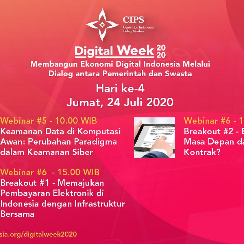 Digital Week 2020 -  E-signature, Masa Depan dari Sebuah Kontrak?
