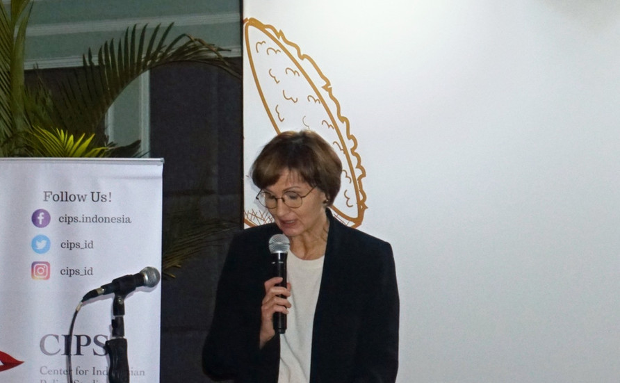 Dalam pidato pembukaannya, Ibu Bettina Stark-Watzinger menyoroti pentingnya makanan yang terjangkau bagi semua orang.