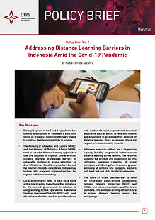 Cover Addressing Distance Learning Barri