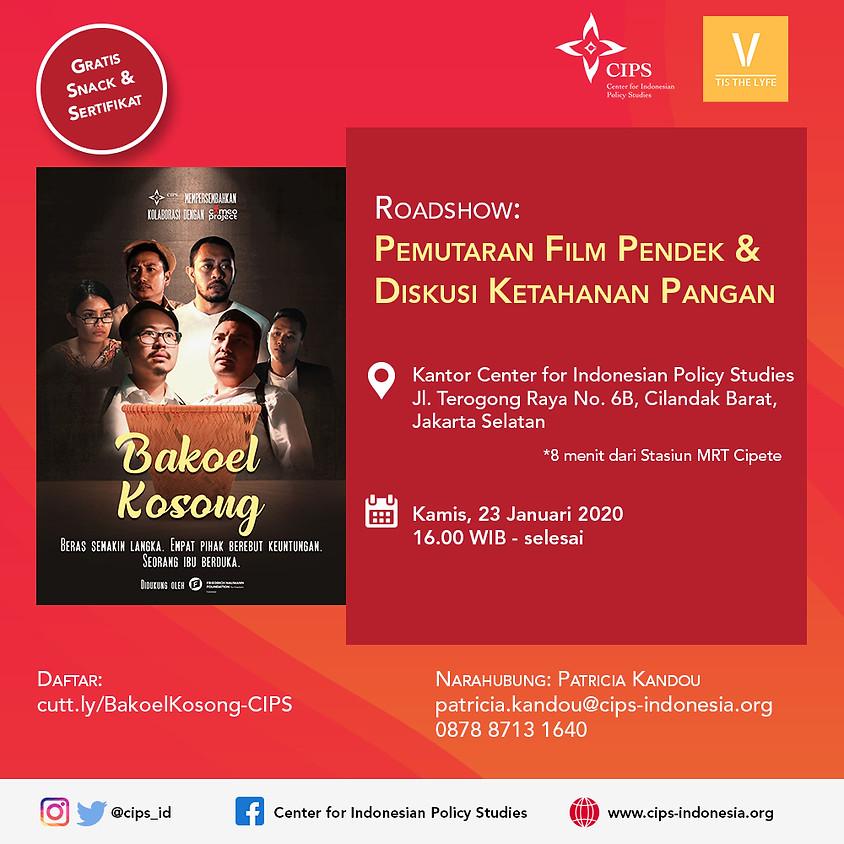 Roadshow: Pemutaran Film Pendek & Diskusi