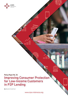Cover_21B_Digital version Improving Consumer Protection for Low-Income Customers in P2P Le