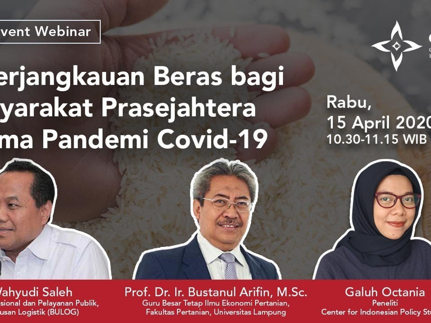 Webinar on Rice Affordability during Covid-19 Pandemic