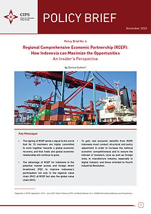 Cover Regional Comprehensive Economic Pa