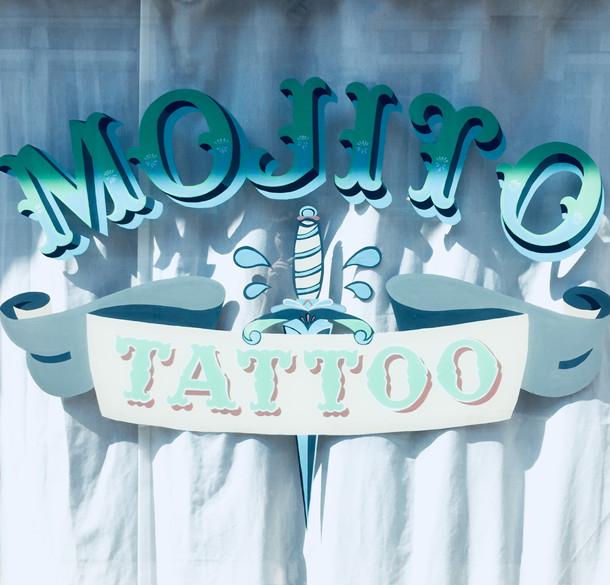 Mojito Tattoo se refait une beauté pendant les vacances d'été ;)