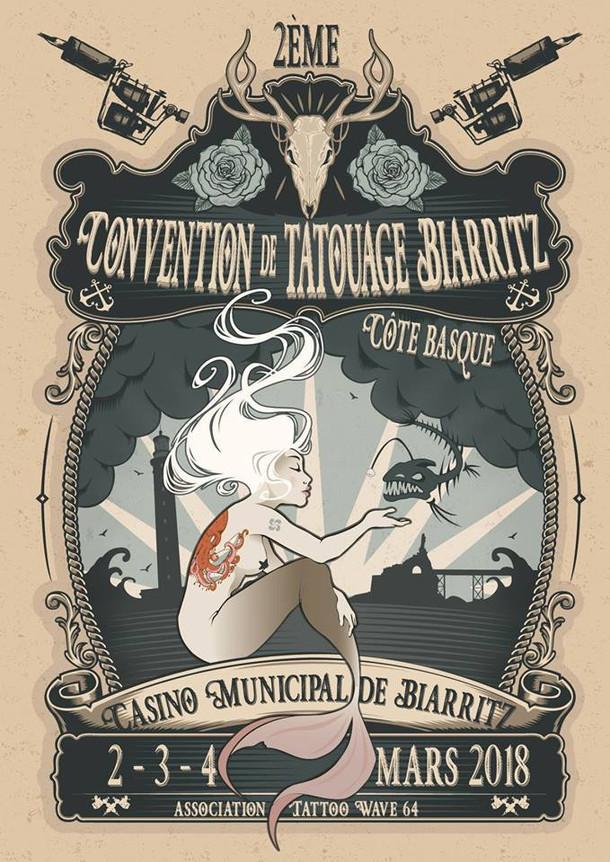 Ophélie Taki et FWIP participeront à la Convention de Tatouage de Biarritz!