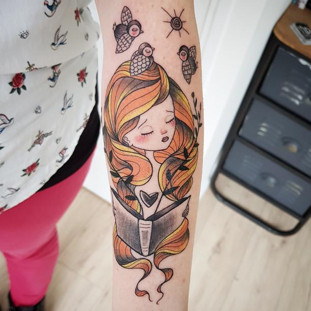 Emy Tattoo Art sera en guest du 8 au 12 Mai 2018.