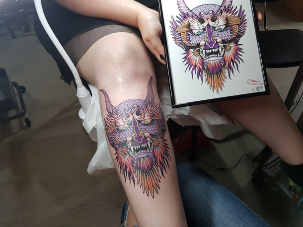 Collab Norma Tattoo & iDitch :)