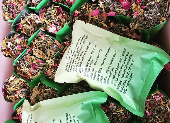 Yoni Steam Herb 20 Individual tear open yoni steam packets