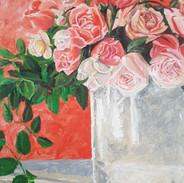 Abstrakte Rosen