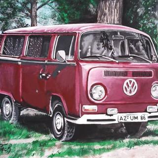 Acrylgemälde 60 x 40 cm