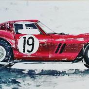 Acrylgemälde 60 x 30 cm