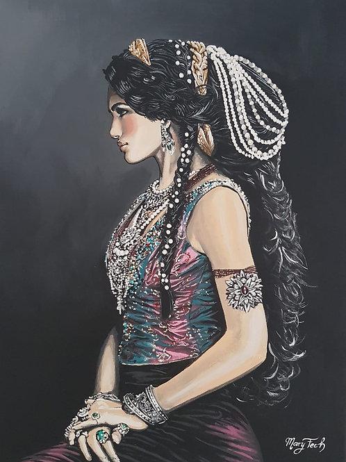 Herrscherin, Kunstdruck, 20 x 30 cm, Fine Art Matt Papier