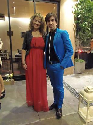 Ximena Barbano trabaja con Juan Pablo Ledo, primer bailarín del teatro Colón.