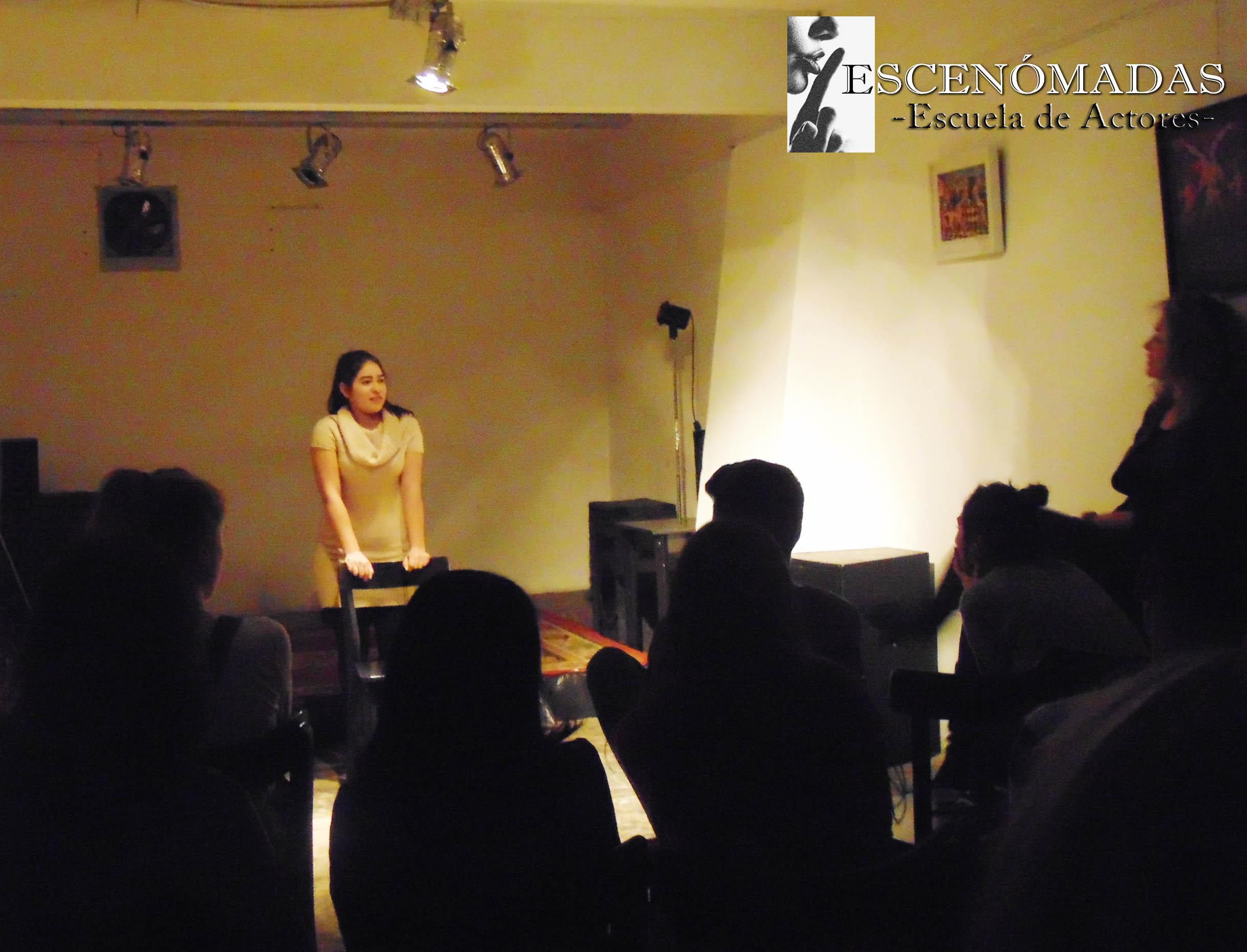 Actriz Jessica Solis