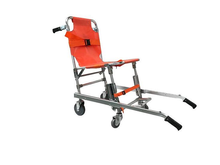 Opvouwbare trapstoel met 4 wielen