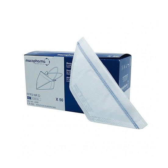 Beschermend masker FFP2 met eendebek- verpakking van 50 stuks