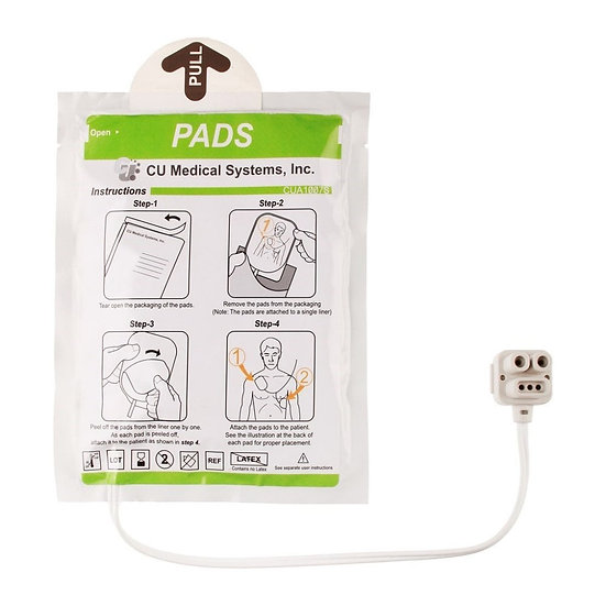 Electrodes pour CU Medical IPAD-SP1