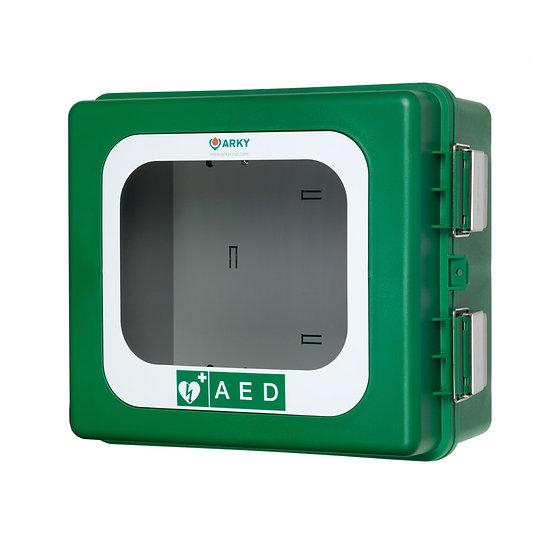Buitenkast van polyurethaan voor AED met verwarming