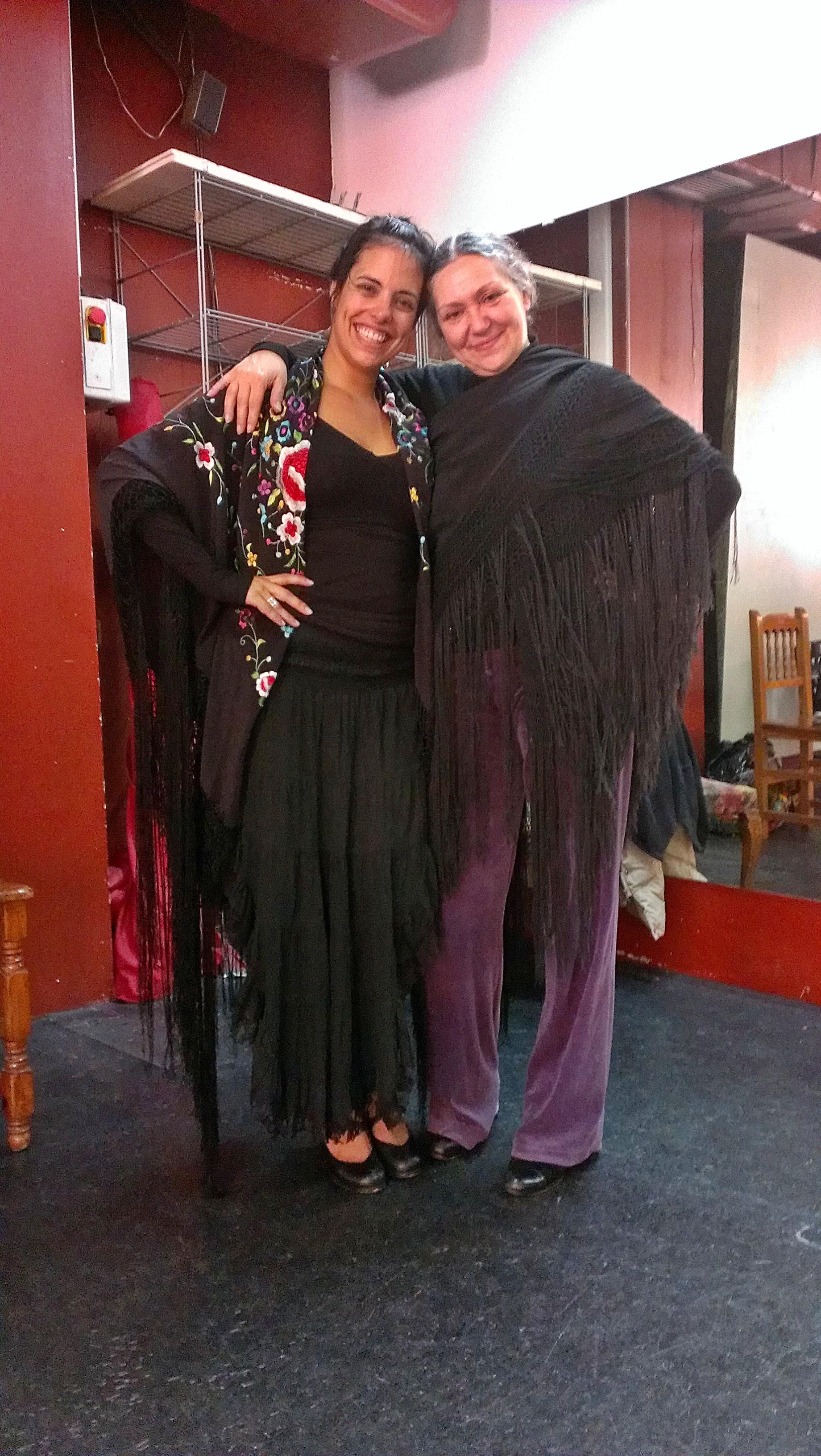 Carmela Greco. Flamenco.