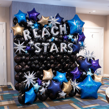Reach for the Stars Photo Backdrop