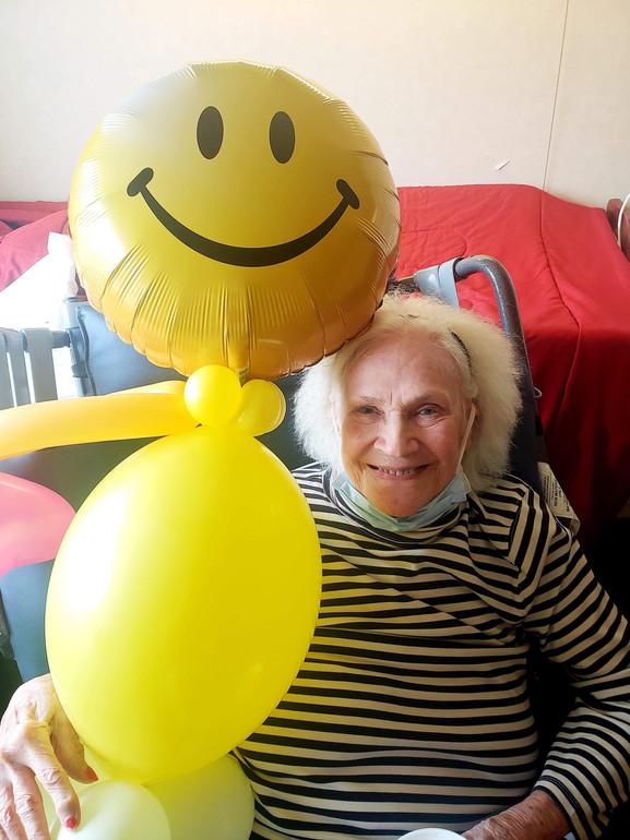 Balloon Buddies delivered to Bridgepoint Health Campus