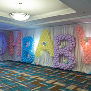 Oversized Balloon Letters