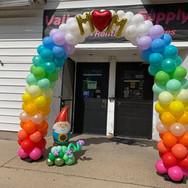 Rainbow Block Arch
