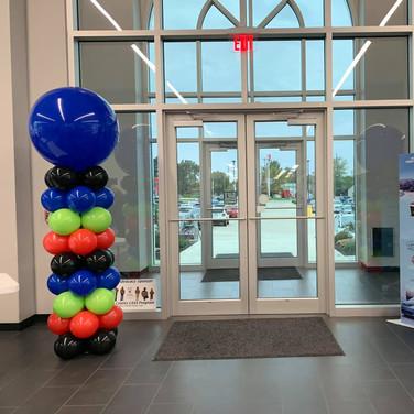 Standard Balloon Columns