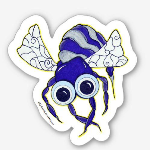 Zombee Sticker 2 pack