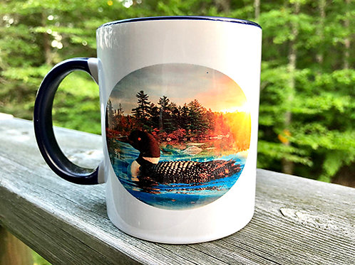 Loon on a  Summer Morning