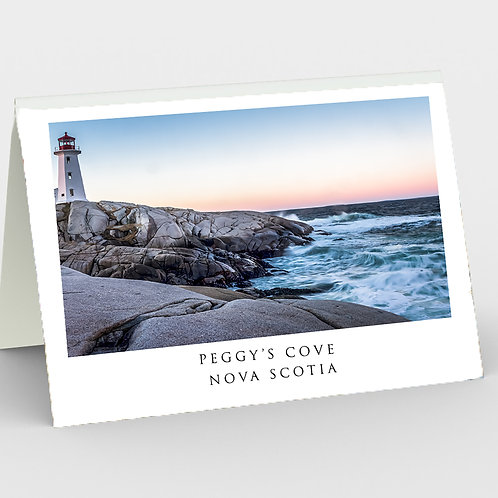 Peggy's Cove Note Card