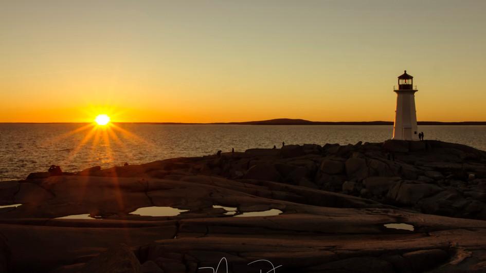 Peggy's Sunset