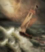 Sail Boat, Storm, Sea, Waves,