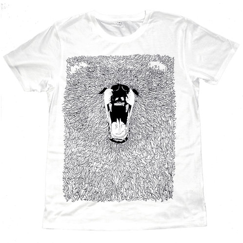 Grizzly Bear Screen Printed