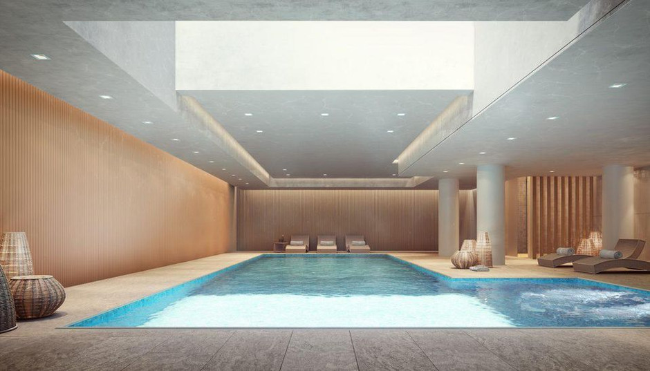Luxury New York Developers Are Betting On Over-The-Top Indoor Swimming Pools To Close Deals