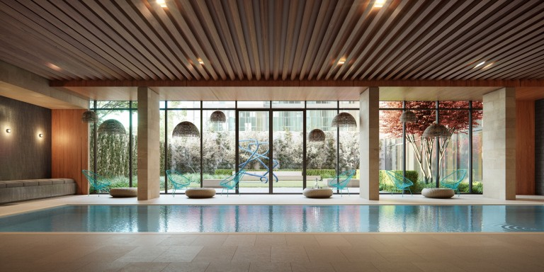 Luxury Developments with Intriguing Indoor Pools