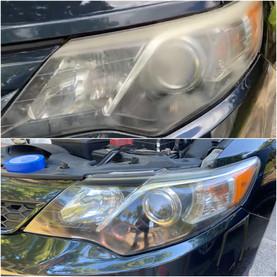 Headlight Restoration on a Toyota Camry