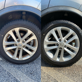 Wheel and Tire Cleaning