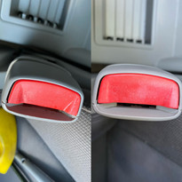 Cleaning of a Seat Buckle